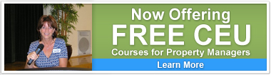 FREE CEU Courses for Property Managers